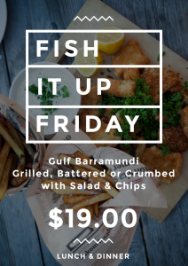 FRIDAY FISH IT UP