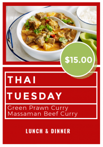 TUESDAY THAI